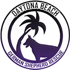 Daytona Beach German Shepherd Rescue Logo